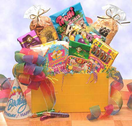 Birthday Gift Baskets - Gift Box to Say Happy Birthday Med
