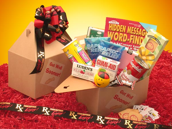 Care Packages - Get Well Sooner!  Care Package