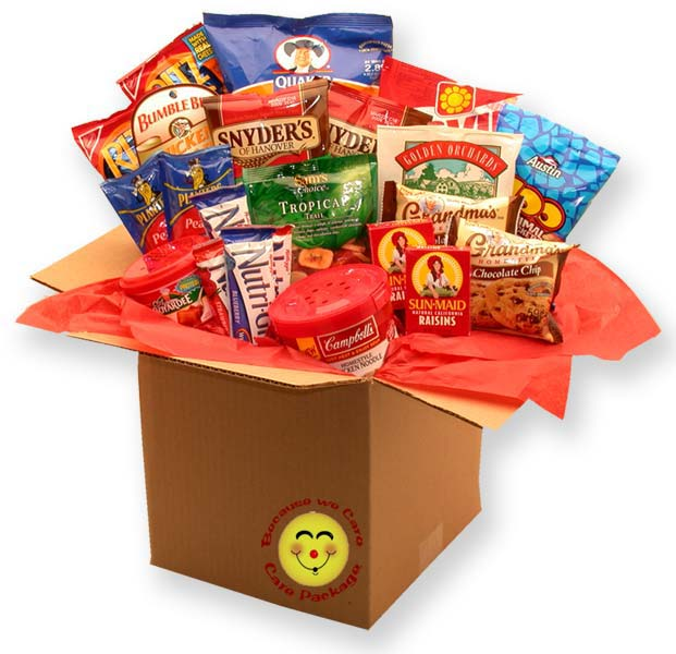 Care Packages - Healthy Choices Deluxe Care package
