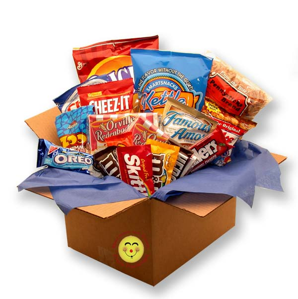 Care Packages - Snackdown Deluxe Snacks Care Package