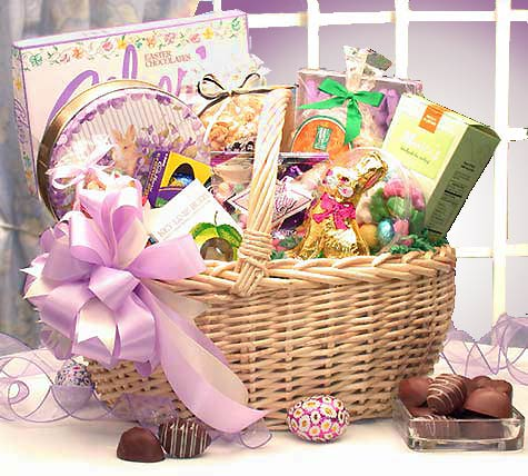 Gift basket drop shipping product image catalog easter deluxe easter negle Images