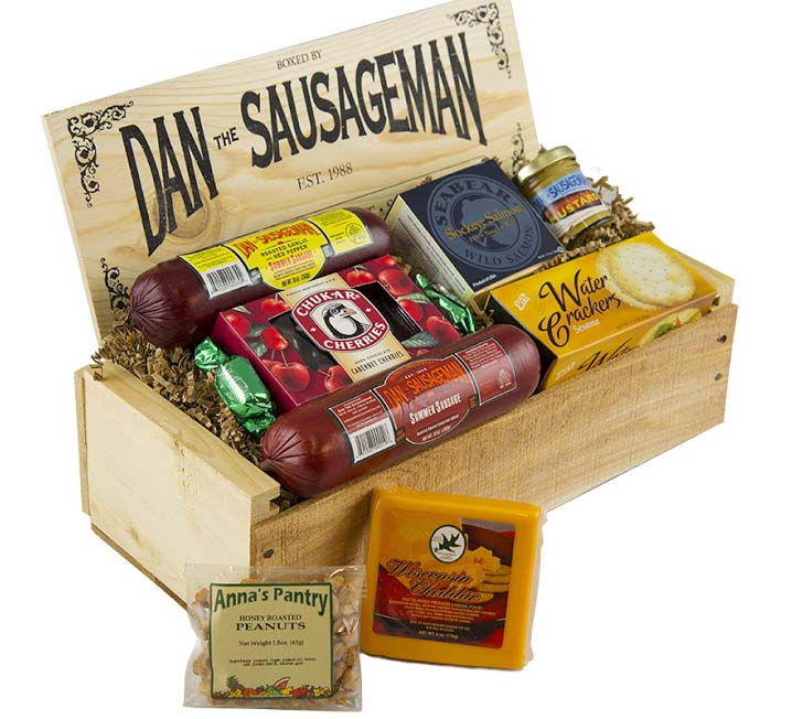 Specialy Meats & Cheeses - Dans Favorites Gift Box MD