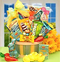 Easter Sweets N Treats Gift Basket