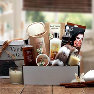 Vanilla Spa Gift Box