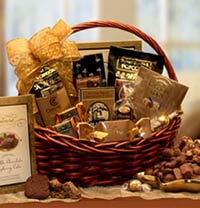 Chocolate Gourmet Gift Basket