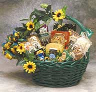 Sunflower Treats Gift Basket