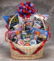 Coke Works Snack Gift Basket