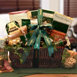 With Our Sincerest Sympathy Gift Basketse enter name here