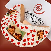 Lil' Angels Giant Valentine's Fortune Cookie